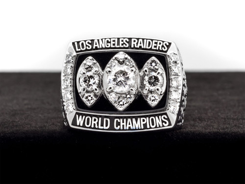 1983 Los Angeles Raiders Superbowl Championship Ring Face
