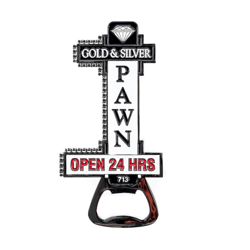 World Famous Shop Sign Bottle Opener