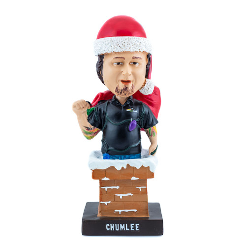 Santa Chumlee Holiday Bobblehead Thumb