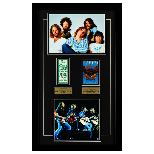 The Eagles Memorabilia with 2 Authentic Back Stage Passes Thumb