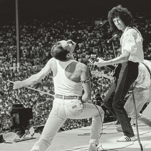 Neal Preston Photography; Queen Live Aid Archival Pigment Print