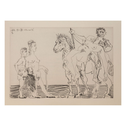 Pablo Picasso; Untitled - From Cocu Magnifique; 2 - thumb