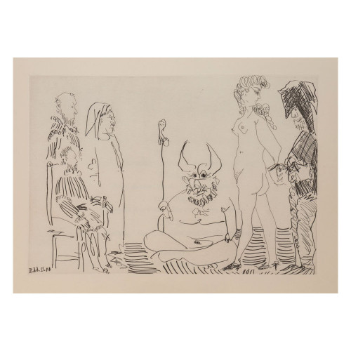 Pablo Picasso; Untitled - From Cocu Magnifique; 4 - thumb