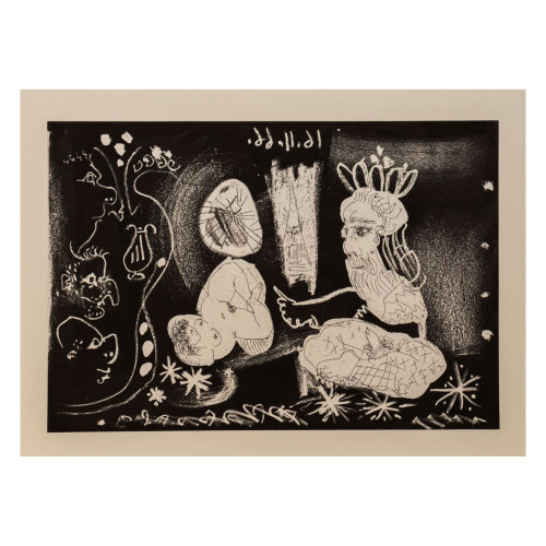Pablo Picasso; Untitled - From Cocu Magnifique; 5 - thumb
