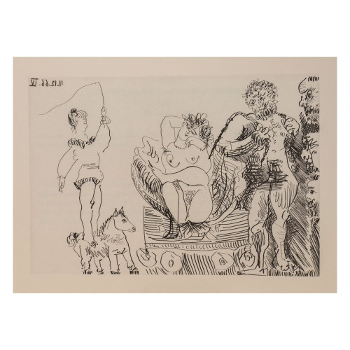 Pablo Picasso; Untitled - From Cocu Magnifique; 6 - thumb