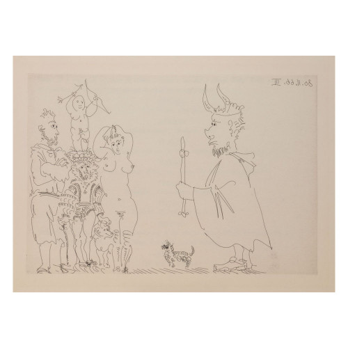 Pablo Picasso; Untitled - From Cocu Magnifique; 7 - thumb
