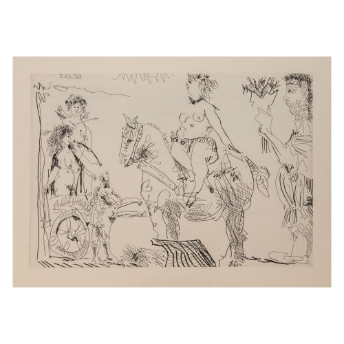 Pablo Picasso; Untitled - From Cocu Magnifique; 8 - thumb