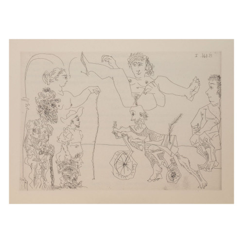 Pablo Picasso; Untitled - From Cocu Magnifique; 10 - thumb