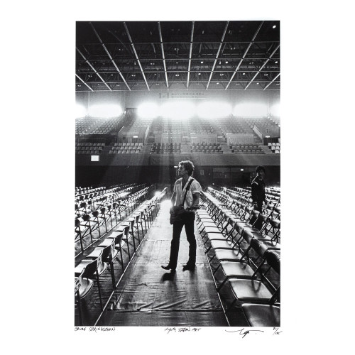 Neal Preston; Bruce Springsteen Kyoto, Japan 1985  - Archival Print - thumb