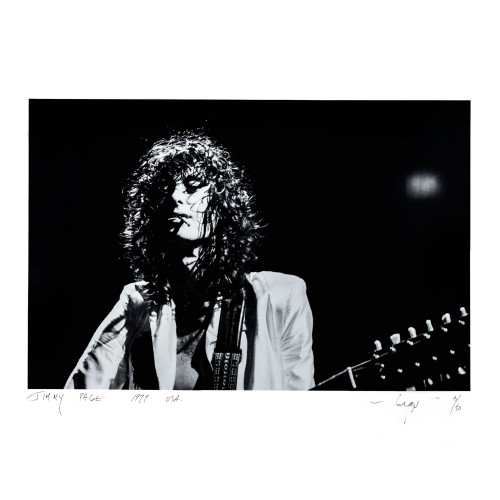 Neal Preston; Jimmy Page 1977 - Archival Print - thumb