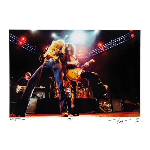 Neal Preston; Led Zeppelin 1975 - Archival Print - thumb