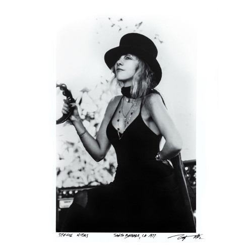 Neal Preston; Stevie Nicks Santa Barbra, CA 1977 - Archival Print - thumb