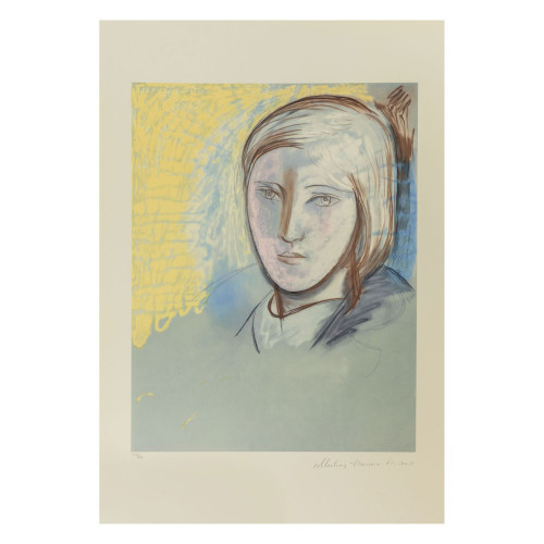 """Picasso - Marina Picasso - """"Portrait of Marie Therese"""""""