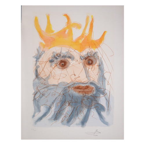 "Salvador Dali; ""King Saul "" from Our Historical Heritage (thumbnail)"