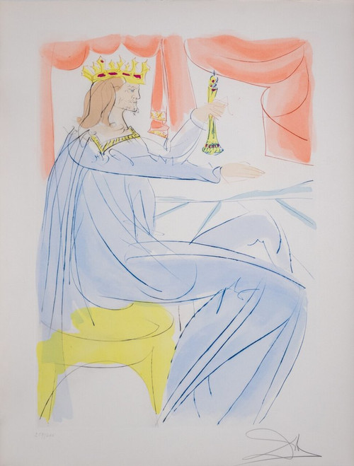 "Salvador Dali; ""King Solomon "" from Our Historical Heritage (thumbnail)"