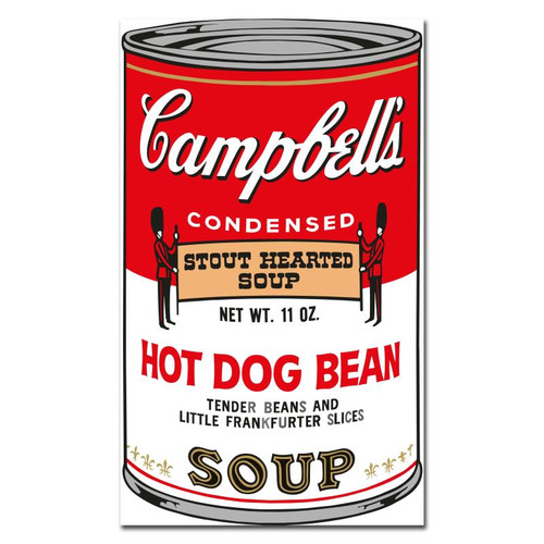 Andy Warhol; Soup Can Series 2 - 2