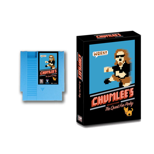 Chumlee's Adventure the Quest for Pinky; Blue cartridge