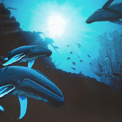 Robert Wyland; Whale Vision-2
