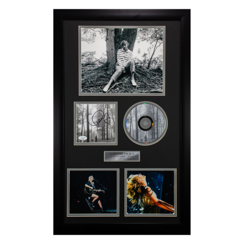 Certified Authentic Taylor Swift Signed CD (thumbnail)