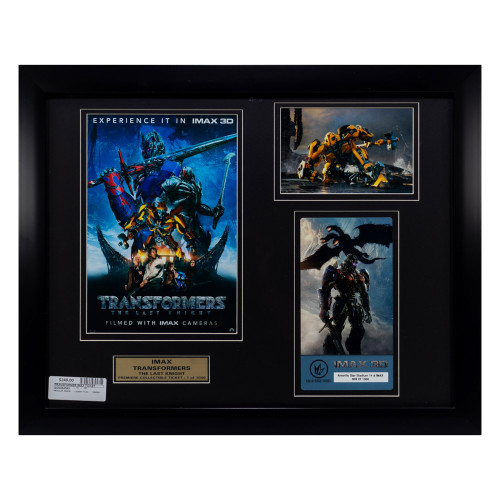 Movie Collectible: TRANSFORMERS: The Last Knight IMAX Ticket (thumbnail)