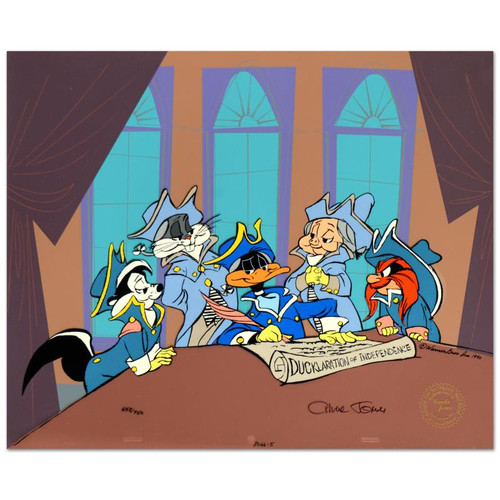 Animation Cel; Ducklaration of Independence