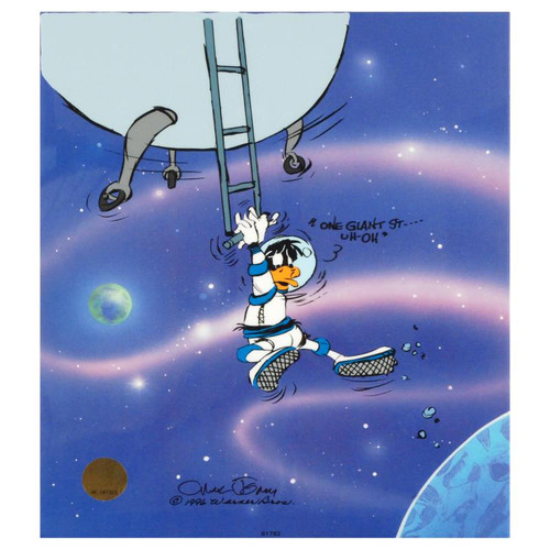 Animation Cel; Looney Landing
