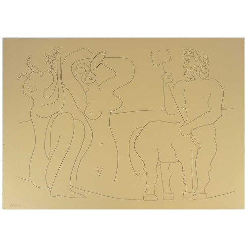 Pablo Picasso; Drawings From d' Antibes