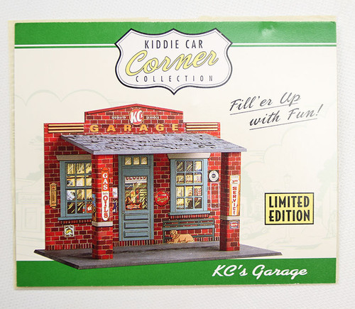 Hallmark Kiddie Car Corner KC Garage Collection
