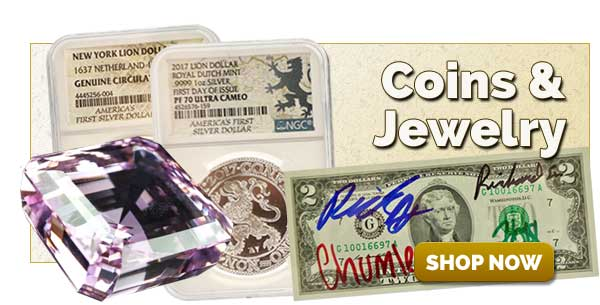 Shop Coins and Jewelry