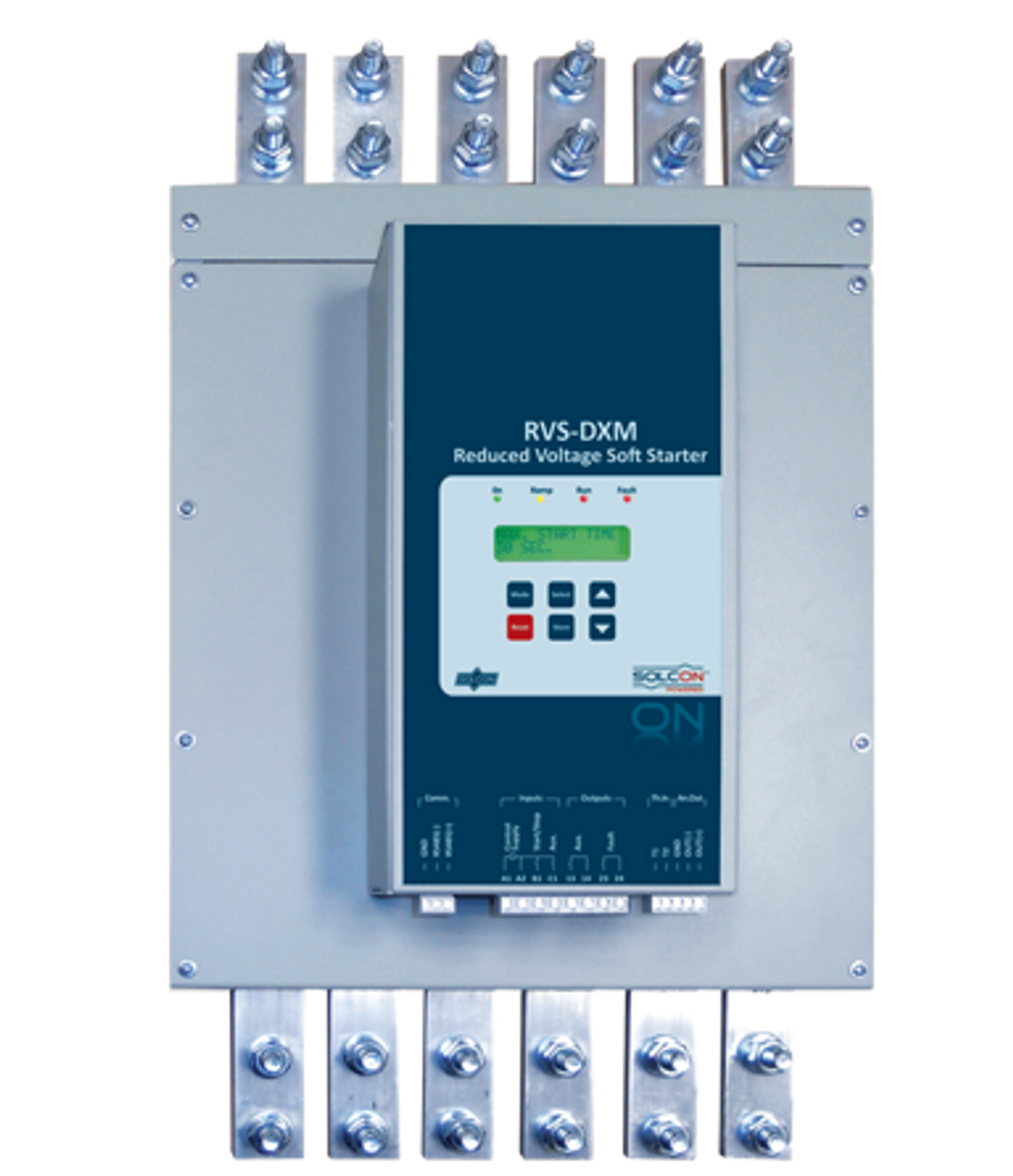 RVS-DX: Standard Duty Soft Starter with Built-in Bypass