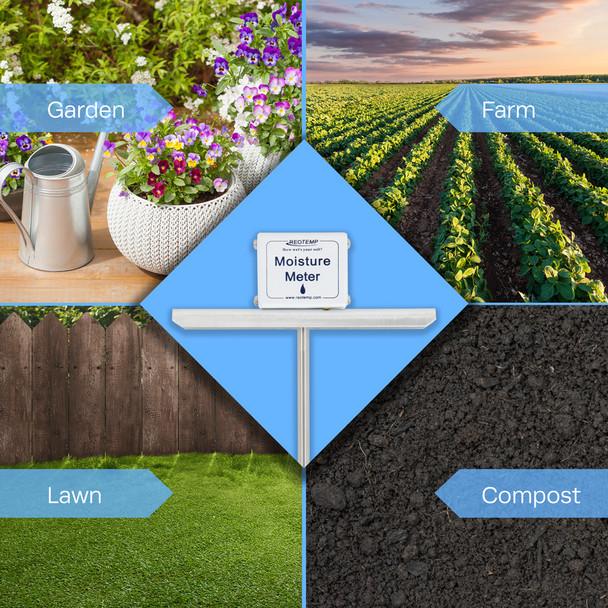 Long Stem Compost Moisture Meter