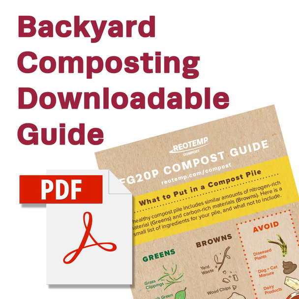 Backyard Compost Thermometer Guide