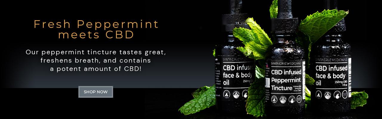 Fresh Peppermint CBD tincture