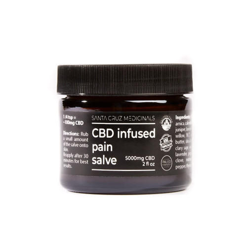 5000mg Santa Cruz Medicinals CBD Pain Salve