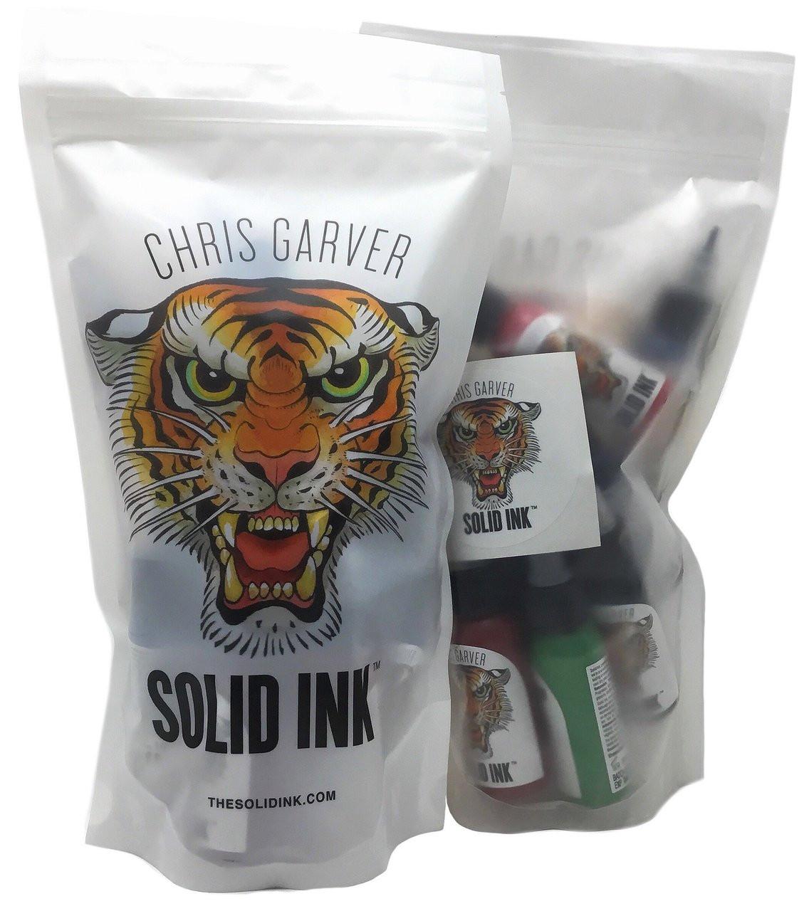 cc04eaa60 Solid Ink Chris Garver 12 Color Set - 1 oz