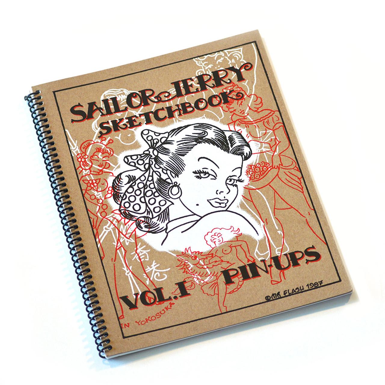 Sailor Jerry Pin Up Sketchbook Volume 1