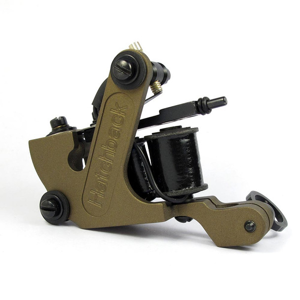 Hatchback Irons Tattoo Machine - The Sledge Liner (Cerakoted Frame)