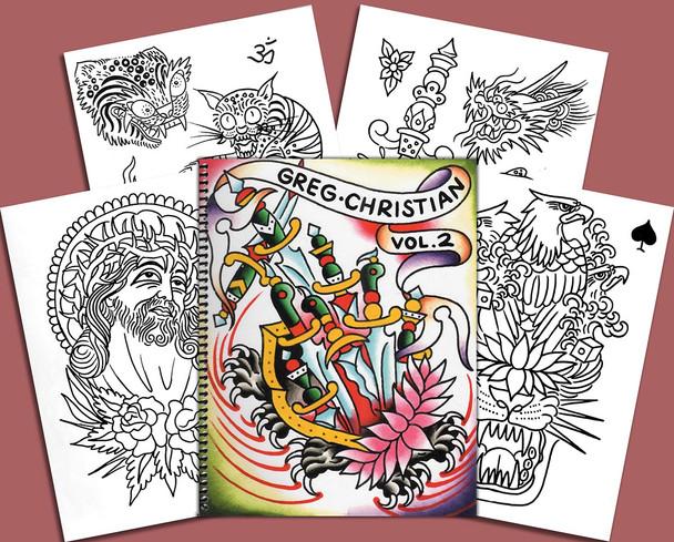 Greg Christian Sketchbook Volume 2
