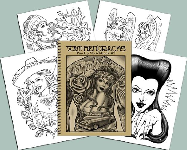 Tim Hendricks - Pin-Up Book #2