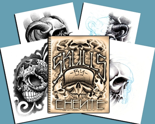 Chente Skull Sketchbook