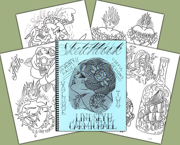 Lindsey Carmichael - Sketchbook #2