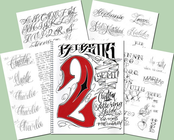 Lettering Guide - Volume 2 - by BJ Betts