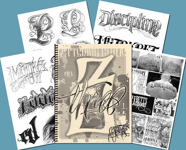 Lettering Guide - Volume 3 - by BJ Betts