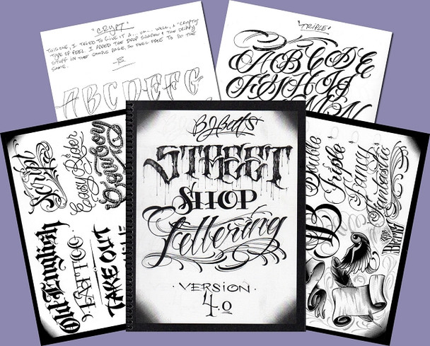 Lettering Book - Volume 4 - by BJ Betts