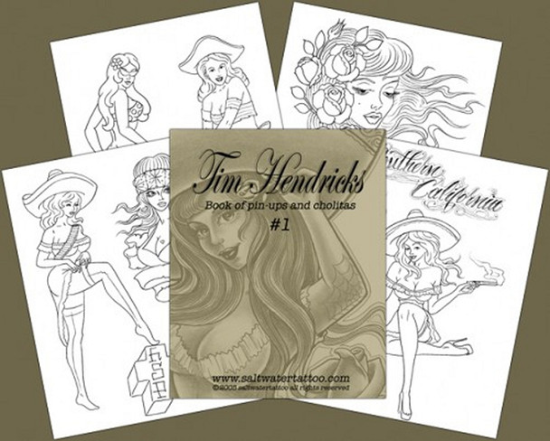 Tim Hendricks - Pin-Up Book #1