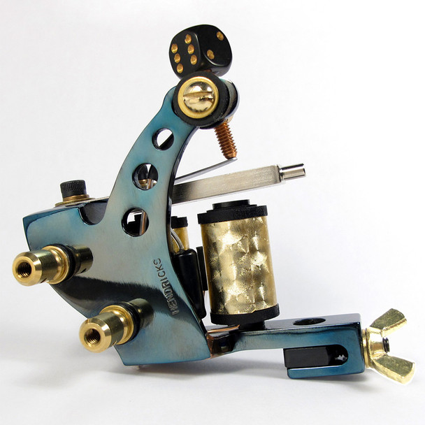Tim Hendricks Tattoo Machine - The Gold Tooth Liner