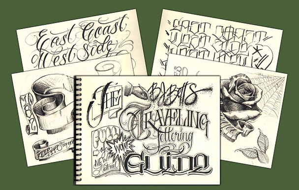 Traveling Lettering Guide - by BJ Betts