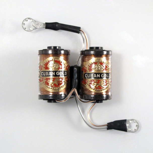 """1 1/4"""" Coils With Capacitor - Cuban Golds"""