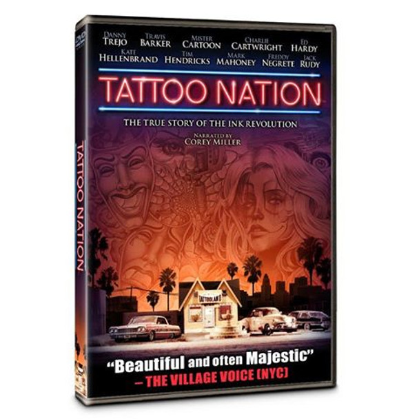 Tattoo Nation - DVD