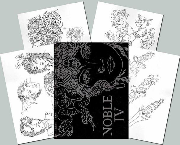 Todd Noble - Sketchbook Vol. 4